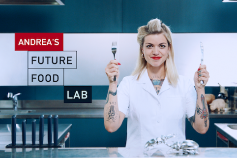 Andrea's Future Food Lab (Web Series)